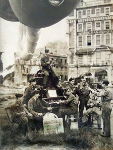 Barrage balloon maintenance crew Granville Gardens. Courtesy of Tim Allen