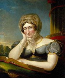 Caroline of Brunswick Queen to George IV c1820, by James Lonsdale*. Internet