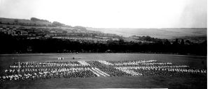Crabble Athletic Ground Silver Jubilee of George V 10.05.1935 from Hollingsbee Collection - Museum