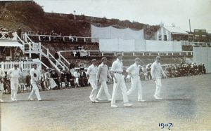 Crabble Athletic Ground - Cricket 1907. Dover Library