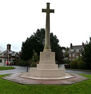 Duke of York's Grand Memorial Cross to the 247 old boys killed during World War I. Following World War II, the names of former pupils killed were added.