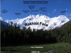 Rakhoit Face, Nanga Parbat, Himalayas - xcitefun internet