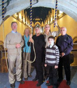 St Mary's Church Bell Ringers. Dover Mercury 2011