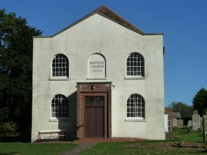 Eythorne Baptist Church built 1804