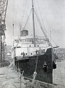 Maid of Kent - twin-screw turbine steamer of 2,693 tons gross, built for the Southern Railway in 1925