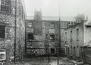 Oil Mills, Limekiln Street, next to Finnis Square - pre World War II. Dover Library