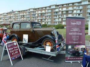 Dover Regatta 2014 - Dover Transport Museum raffled a Ford Model Y