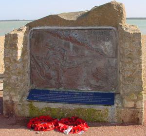 Dunkirk Memorial, Dover Seafront.