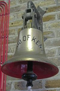 Maid of Kent Bell. Dover Transport Museum
