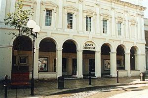 Museum former Market Hall circa 1990. Dover Museum