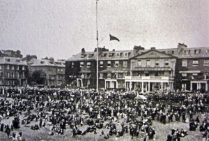 Royal Cinque Ports Yacht Club, Marine Parade c 1930s on Regatta weekend
