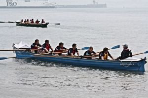 Participants in the 2013 Regatta. DHB