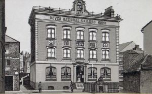 Sailors' Home, Blenheim Square. Dover Library