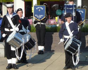 Dover Sea Cadets Market Square summer 2013
