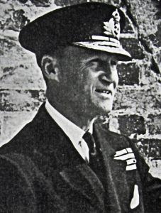 Vice-Admiral Bertram Ramsay the Commander of Fortress Dover 24 August 1939 to April 1942.  Doyle Collection.