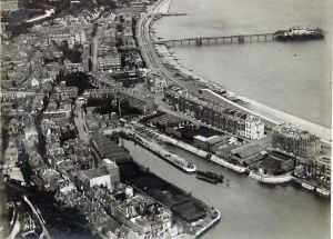 Western Docks 1920s before Promenade Pier was dismantled. Dover Library