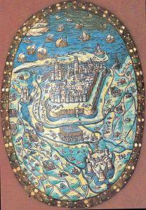 Calais La Reprise en 1558  Calais Musée