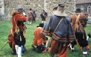 Civil War re-enactment at Dover Castle