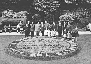 Connaught Park marking the twinning with Split in, what was then, Yugoslavia, 1956. Dover Museum