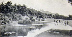 Connaught Park - c 1920. Dover Library