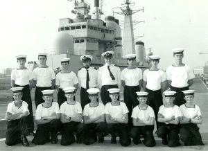 Dover Sea Cadets 1985. Courtesy of TS Lynx.