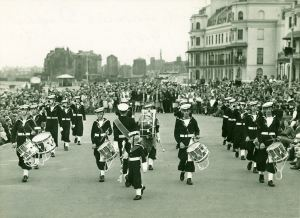 Dover Sea Cadets 1949. Courtesy of TS Lynx.