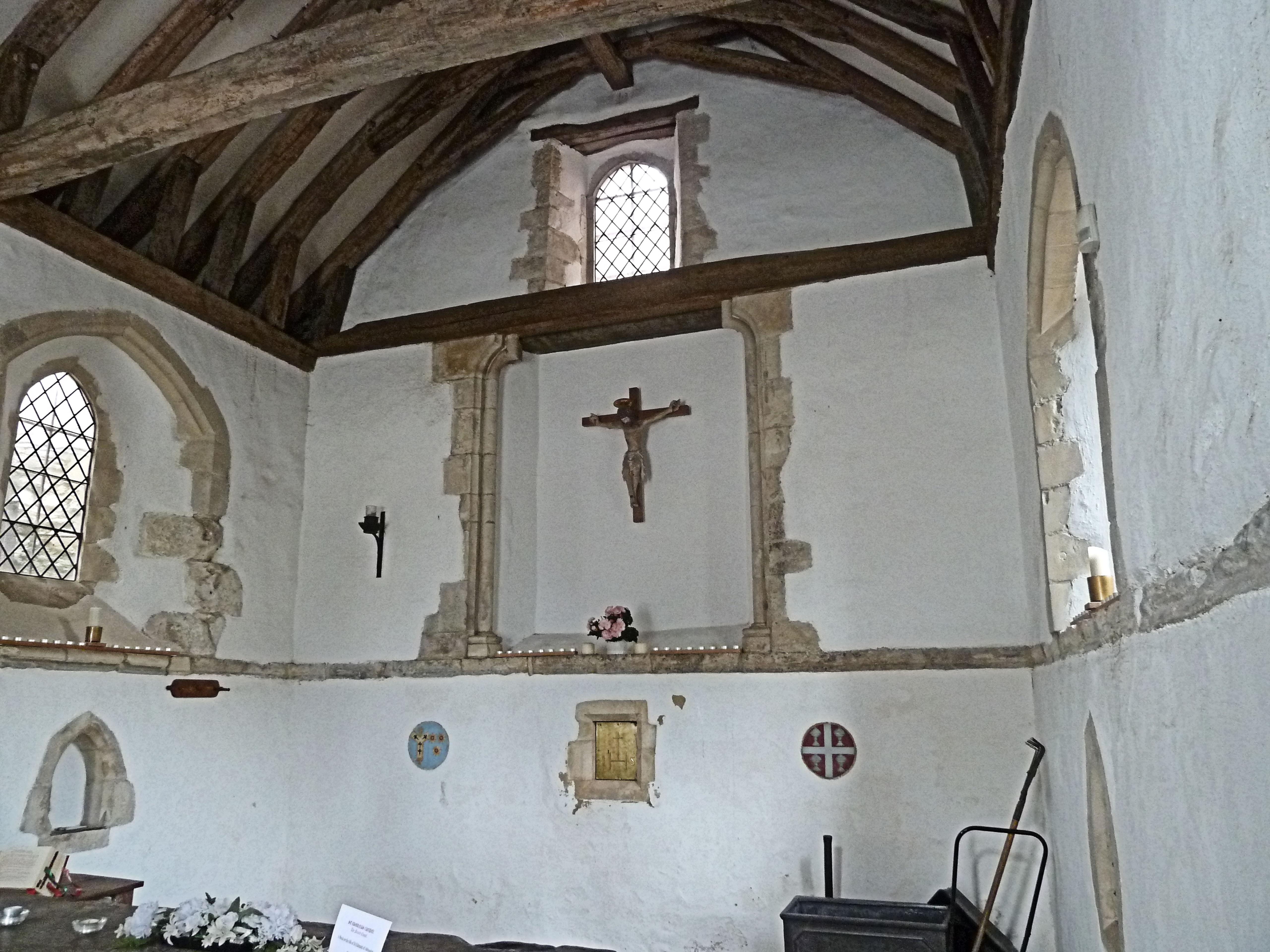 St Edmunds Chapel Dedicated By One Saint To Another