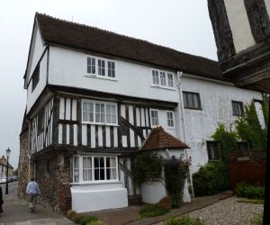 Thomas Arden's house, Faversham where he was murdered on 15 February 1551.