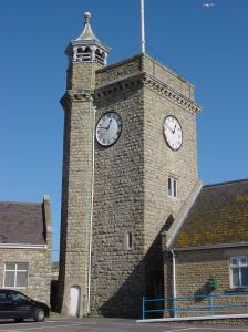 Clock Tower on Dover's seafront. Alan Sencicle