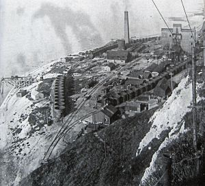 Dover Colliery opened on the site of the first Channel Tunnel now Samphire Hoe. Bob Hollingsbee Collection