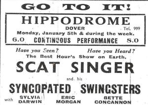 Hippodrome advert February 1942
