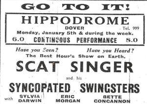 Hippodrome advert February 1942