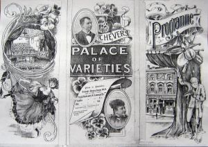 Palace of Varieties opened in Market Square in 1898. Dover Library