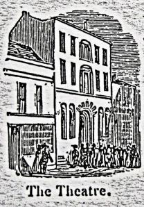 Royal Theatre, Snargate Street. Rigden 1844