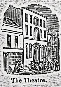 Theatre Royal 33-34 Snargate Street opened on 22 November 1790. Rigden 1844