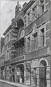 Theatre Royal, Snargate Street 1893