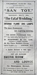 Theatre Royal, Snargate Street - Programme 1893