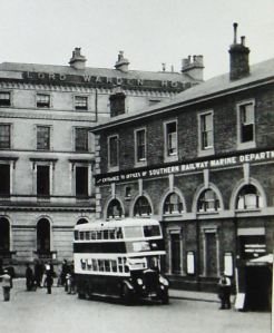 Town Station after being taken over by the Marine Department. Dover Library