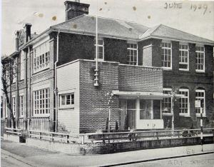 Art School opened June 1939, Maison Dieu Road. Dover Library