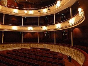 Auditorium of Theatre Royal Bath designed by C J Phipps (1835–1897) who designed the interior of Dover's Royal Hippodrome. Thanks to Theatre Royal Bath