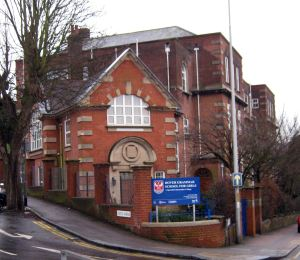 Former Dover Boys' County School now Dover Girls' Grammar School, Frith Road. LS 2013