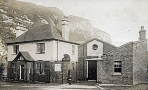 Drill Hall, Townwall Street 1912 - Dover Museum
