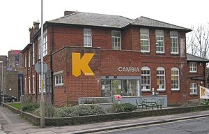 Former Art School renamed Cambia House K College - Paddock - LS 2014