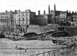 BBason being deepened 1871- 1874 to create Granville Dock. Strond Street behind