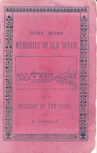 Mary Horsley - Front cover of Some More Memories of Dover. Courtesy of Mandy Lock