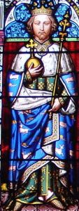Richard II (1377-1399) from a window in the Maison Dieu. Alan Sencicle.