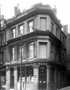 Rose Inn,  Cannon Street. Dover. Dover Museum