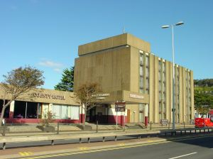 County Hotel, Townwall Street, formerly Holiday Inn and the Moat House. Alan Sencicle 2009
