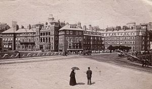 Folkestone Pavilion Hotel 19th cent - Courtesy of Folkestone Museum