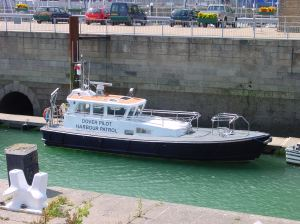Dover Pilot Boat - Tidal Basin. Alan Sencicle 2009
